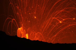 Volcanoes have been blamed for past mass extinctions.