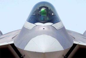 F-22 cockpit