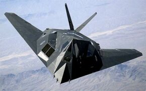 U.S. Air Force F-117A Nighthawk Stealth Fighter