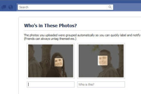 With Tag Suggestion, you don't even have to find the faces. Facebook automatically pinpoints human faces and prompts you to name them.