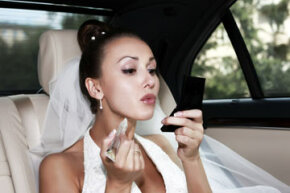 If done correctly, false lashes can really pump up your bridal look.
