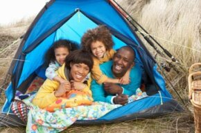Camping with young kids can be fun -- but requires a lot of planning. We've got a checklist to make it easier.