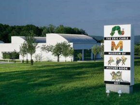 Named for the author of The Very Hungry Caterpillar, the Eric Carle Museum showcases art from a variety of Children's books.