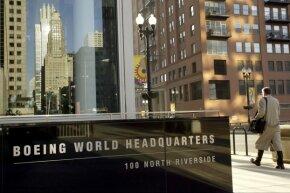 Boeing's world headquarters in Chicago