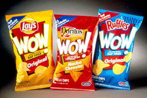 "Wow, do you remember those olestra chips? You won't see them with the ""WOW!"" label anymore, but an April 2013 U.S. FDA report still cited olestra as a food additive that manufacturers could add directly to human food."