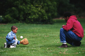 Today's dads spend more time with their kids than in previous generations.