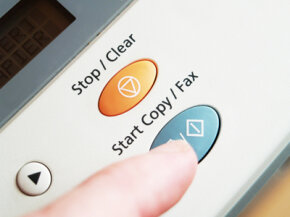 Many fax machines can be set up to store frequent contacts.