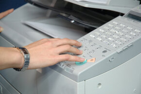 Fax machines are easy to use and resemble dialing a telephone.