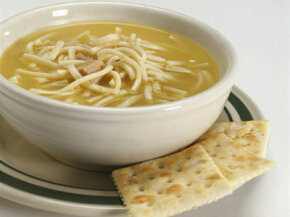 Chicken soup-- does it heal a cold?