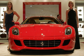 The Ferrari 599 GTB Fiorano combines technology and elegant simplicity.