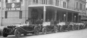 Ferrari and others started Scuderia Ferrari in 1929.