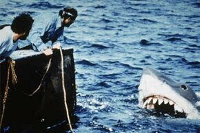 The 1975 movie 'Jaws' was fully restored in 2012.