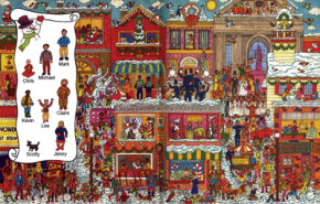 Find Frosty and friends in the Christmas game above.