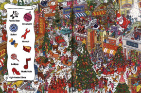 View Enlarged Image Find the Christmas tree ornaments in this holiday game.