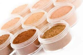 Mineral foundations typically don't contain chemicals, dyes or preservatives found in traditional makeup. See pictures of makeup tips.