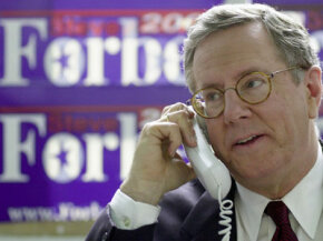 Steve Forbes famously supported the flat tax in his run for president.