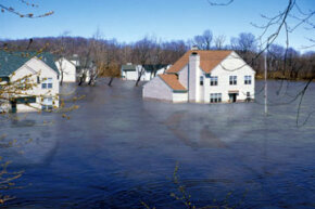 Most insurance companies don't provide flood insurance because the risks are too great. So to be insured against flood, homeowners must purchase insurance from the National Flood Insurance Program.
