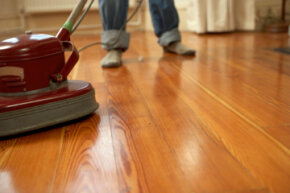 Chances are, you won't need a commercial-grade floor buffer to take care of the floors in your home.