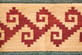 Turn a boring rug from basic to cool in a couple simple steps.