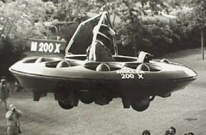 The M200X, the predecessor of the Skycar, flew for the first time in 1989 to a height of 50 feet.