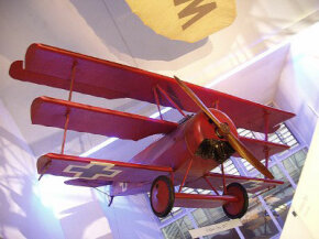 Germany was keenly aware of the shortcomings of its Albatros fighters during close-in, high-altitude dogfights. The Fokker Dr I triplane was a remedy to this problem. See more classic airplane pictures.