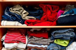 There's no point in neatly folding your clothes if you're not going to store them properly.