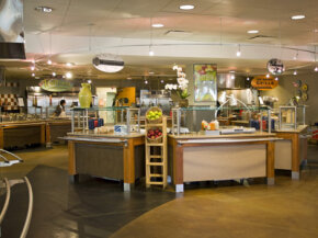 Commissaries may resemble cafeterias, but there are some differences.
