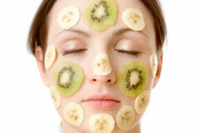 Getting Beautiful Skin Image Gallery Can healthful fruits such as bananas and kiwis really help your skin in a face mask? See more getting beautiful skin pictures.