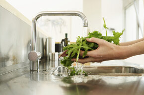Rinsing prewashed lettuce can actually introduce more germs to your produce.