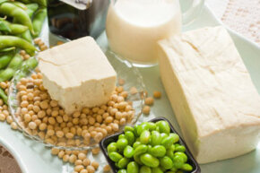 Soybeans and soy-based products have been shown to help keep skin tighter.