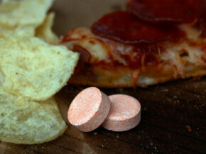 Eating pizza and potato chips? Don't forget the antacids.