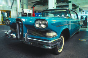 """The Edsel was supposed to be everything American car buyers wanted — """"the car of the future."""" However, for many, many reasons, it was a terrible flop."""