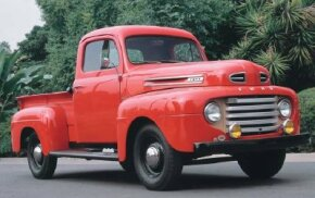 This 1948 Ford F-1 truck was one of the first of Ford's popular F-1 series of trucks. See more pictures of trucks.­