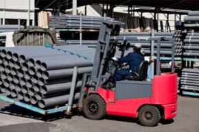 Forklift operators have to pass a test specific to the type of forklift they will be using before they're allowed to operate a forklift.