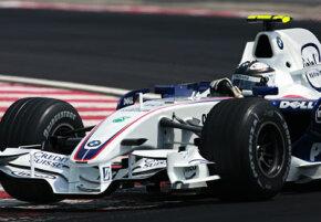 Sauber BMW driver Robert Kubica in the Brazilian Grand Prix in October 2007