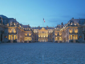 The Palace of Versailles was an opulent haven from the squalors of Paris.