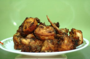 Perfect fried chicken: Crispy outside, moist and tender inside. See more fried food with these fried food pictures.