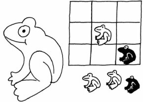 "It's ""Toads for the win!"" with this Tic-Tac-Toads Frog Activity."