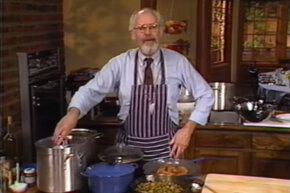 "Jeff Smith and his show ""The Frugal Gourmet"" were public-television fixtures in the 1980s."