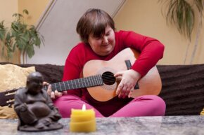 Empowering patients to create music is just one of the techniques employed by music therapists.