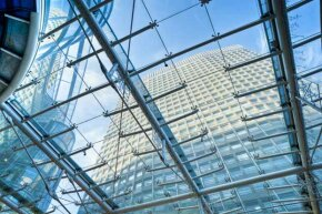 Transparent aluminum could be used to construct towering glass-walled skyscrapers that required less internal support.