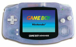 The Game Boy Advance is Nintendo's first horizontally aligned handheld game.