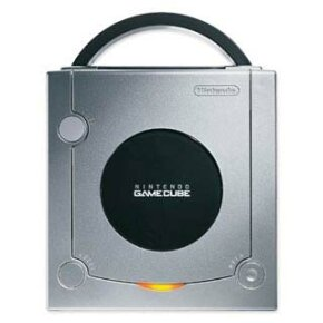 The limited edition platinum GameCube