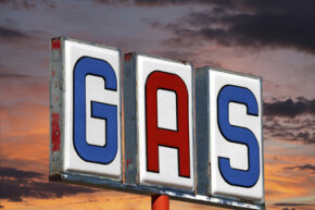 Gasoline might be more dense in the morning, but you probably won't see a difference in your gas mileage.