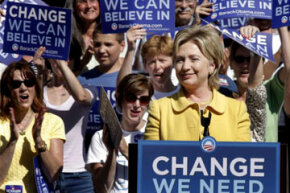 As the 2008 presidential race demonstrated, women won't automatically vote for another woman.