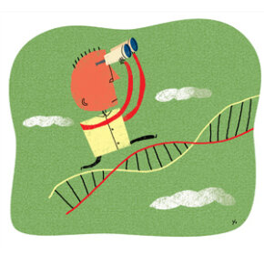 Actually, you don't need those binoculars to see that the future of gene therapy looms close.