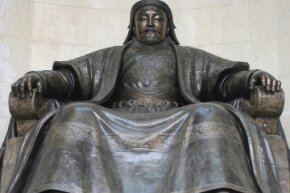 Genghis Khan's habit of killing a lot of men and engaging in a lot of procreation means a large chunk of the population shares his genes.