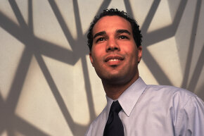 George C. Fatheree, III, pictured in this May 2000 portrait, co-founded the civic resources website GovWorks.