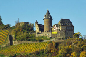 Stahleck Castle in Rhineland-Palatinate, Germany, boasts the Winery Stahl.
