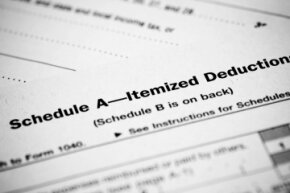 You'll be scarily familiar with Schedule A (Form 1040) if you decide to itemize.